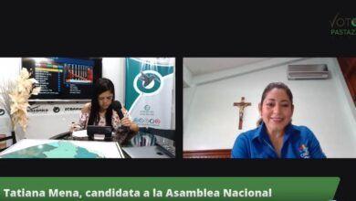 Tatiana Mena, en #VotoPastaza2021
