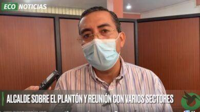 ALCALDE SOBRE EL PLANTÓN Y REUNIÓN CON VARIOS SECTORES