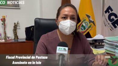 Fiscal Provincial de Pastaza informa sobre el asesinato en la Isla