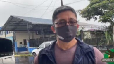 Brigada de fumigación en Shell-Barrio 10 de Noviembre