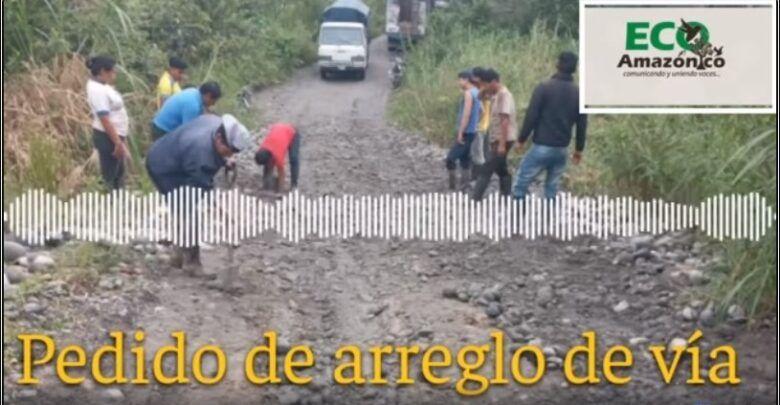 PEDIDO DE ARREGLO DE VÍA