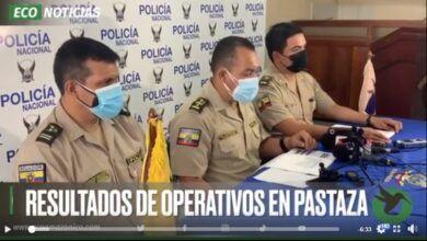RESULTADOS DE OPERATIVOS EN PASTAZA
