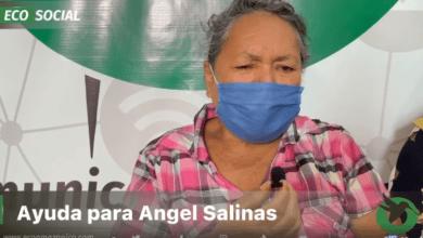 Social-Apoyo económico para Ángel Salinas