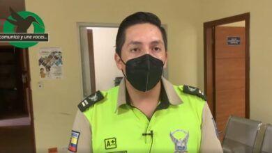 Teniente Jorge Yanes, informa detalles del operativo para detener a tres personas