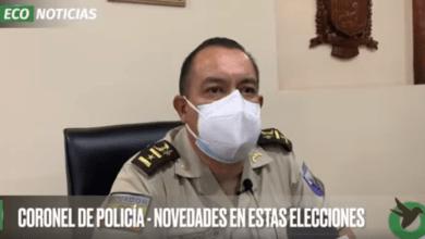 CORONEL DE POLICÍA-NOVEDADES EN ESTAS ELECCIONES