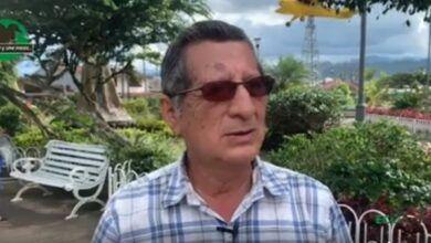 Elisio Tamayo, morador de Shell preocupado por el tema de las vacunas
