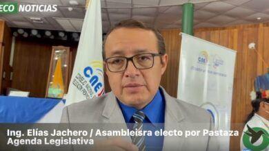 Elías Jachero, Asambleista, plantea la agenda legislativa