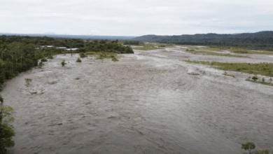 Río Pastaza en alerta