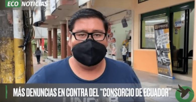 DENUNCIA EN CONTRA DE CONSORCIO ECUADOR .