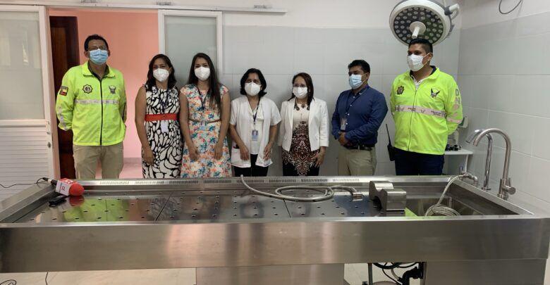 Se entrega la morgue en Puyo