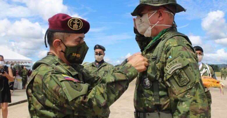"""Ceremonia militar de cambio de mando en la Brigada de Selva N⁰. 17 """"PASTAZA"""""""