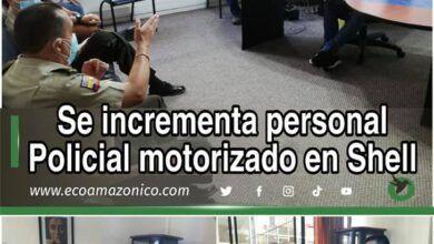 SE INCREMENTA PERSONAL MOTORIZADO EN SHELL