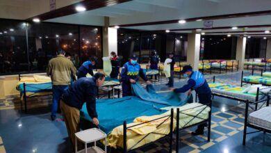 Familia afectada por las fuertes lluvias fue evacuada
