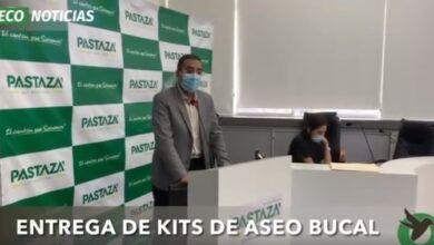 ENTREGA DE KITS DE ASEO BUCAL