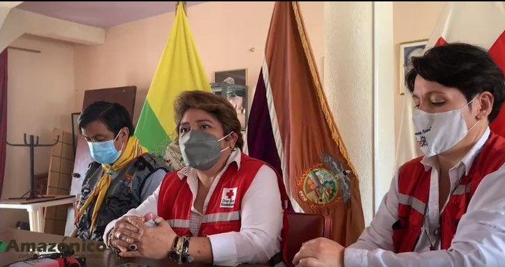 RUEDA DE PRENSA DE LA CRUZ ROJA ECUATORIANA