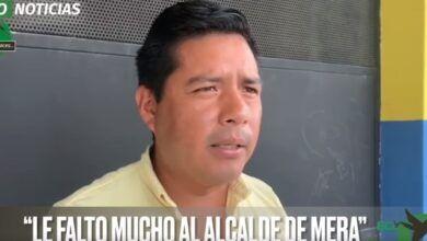 """""""¡LE FALTÓ MUCHO AL ALCALDE DE MERA!"""""""