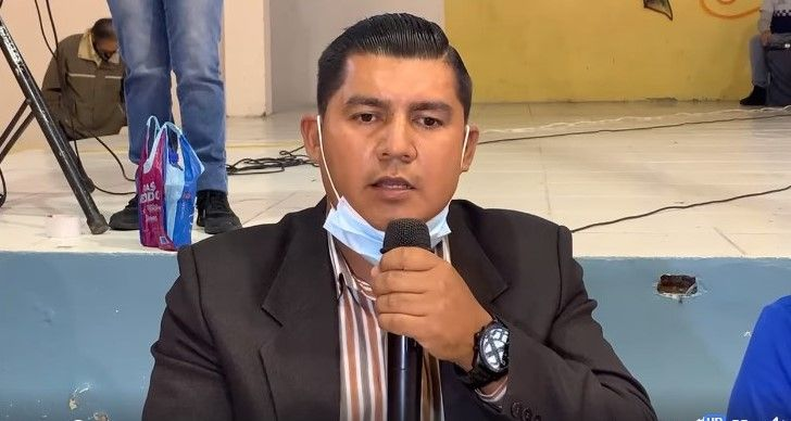 PRESIDENTE DE LA PRE ASOCIACIÓN DE MINEROS SOBRE CONSTRUCCIÓN DEL MURO