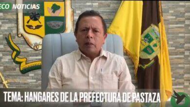 HANGARES DE LA PREFECTURA DE PASTAZA