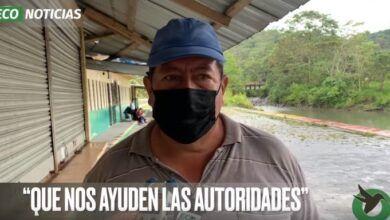PEDIDOS DE AYUDA EN EL DIQUE DEL PAMBAY