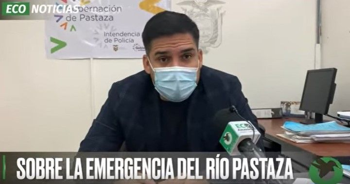 GOBERNADOR SOBRE LA EMERGENCIA DEL RÍO PASTAZA