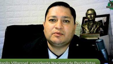 PRESIDENTE NACIONAL DE PERIODISTAS DEL ECUADOR