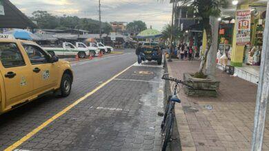 Comerciantes molestos por la nueva señaletica en el barrio Mariscal