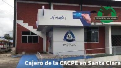Cajero de la CACPE en Santa Clara