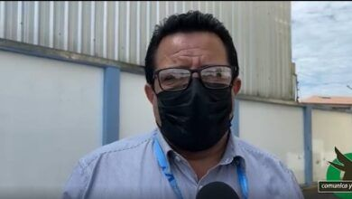 Fredy Zambrano en su fin de gestión en la Dirección de educación en Pastaza