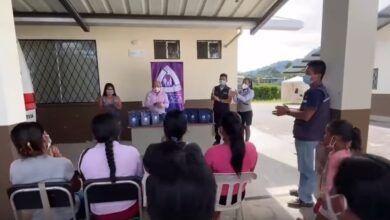CACPE Pastaza entregó kits de asepsia para un grupo de parteras comunitarias