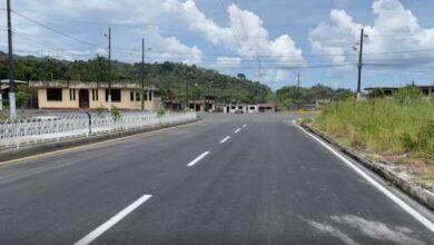Denuncian supuestos malos trabajos de asfalto en Shell