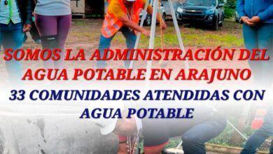 33 comunidades atendidas con agua potable en Arajuno