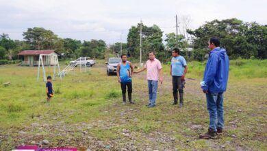Alcalde de Palora realizó un recorrido por diferentes sectores del área rural