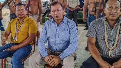 ¡Prefecto participó de Asamblea en la comunidad de Tiwino!