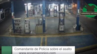 Comandante de Policía sobre el asalto en la gasolinera
