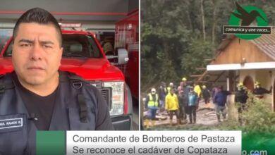 Comandante de Bomberos de Pastaza-Se reconoce el cadáver de Copataza