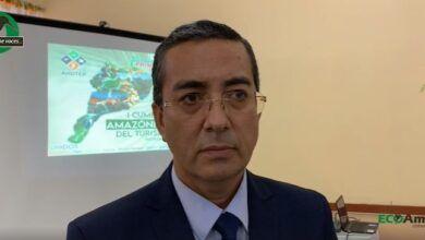 Con el Alcalde sobre las afectaciones por el clima en Puyo