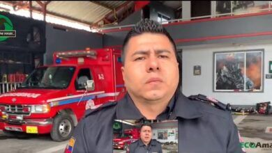 Diálogo con el comandante del cuerpo de bomberos sobre la afectaciones por el clima