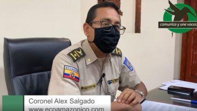 Coronel Alex Salgado comenta sobre supuesto mal procedimiento policial en días pasados
