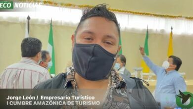 Cumbre Amazónica de Turismo-Jorge León empresario