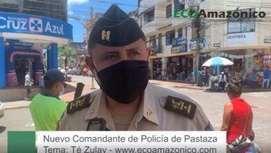 Comandante de Policia de Pastaza sobre el Té Zulay