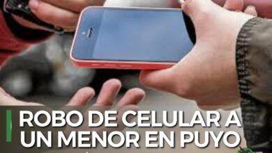 Robo de un celular a un menor de Puyo