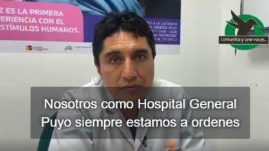 Mamografías a mujeres mayores de 40 años en Hospital General Puyo