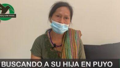 Ayuda-Bélgica Santi busca a su hija en Puyo